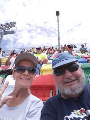 Douglas attended Coke Zero Sugar 400 - Monster Energy NASCAR Cup Series on Jul 6th 2019 via VetTix