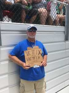 William  attended Coke Zero Sugar 400 - KB100 - Kurt Busch Fan Appreciation Tickets on Jul 6th 2019 via VetTix