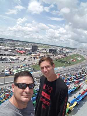 Kenneth attended Coke Zero Sugar 400 - KB100 - Kurt Busch Fan Appreciation Tickets on Jul 6th 2019 via VetTix