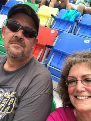 randy attended Coke Zero Sugar 400 - KB100 - Kurt Busch Fan Appreciation Tickets on Jul 6th 2019 via VetTix