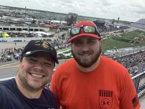 Anton attended Coke Zero Sugar 400 - KB100 - Kurt Busch Fan Appreciation Tickets on Jul 6th 2019 via VetTix