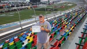 Andrew  attended Coke Zero Sugar 400 - KB100 - Kurt Busch Fan Appreciation Tickets on Jul 6th 2019 via VetTix