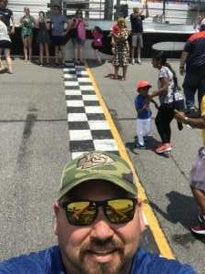 John attended Coke Zero Sugar 400 - KB100 - Kurt Busch Fan Appreciation Tickets on Jul 6th 2019 via VetTix