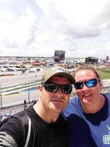 Andy attended Coke Zero Sugar 400 - KB100 - Kurt Busch Fan Appreciation Tickets on Jul 6th 2019 via VetTix