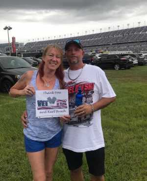 Thomas attended Coke Zero Sugar 400 - KB100 - Kurt Busch Fan Appreciation Tickets on Jul 6th 2019 via VetTix