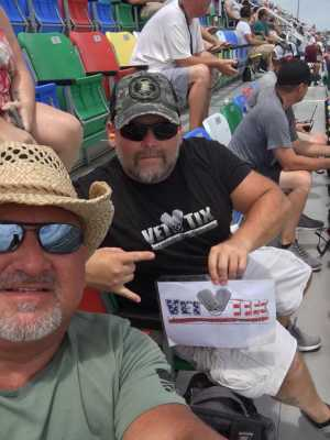 Troy Taylor attended Coke Zero Sugar 400 - KB100 - Kurt Busch Fan Appreciation Tickets on Jul 6th 2019 via VetTix
