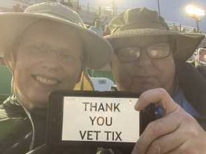 Shawn attended Coke Zero Sugar 400 - KB100 - Kurt Busch Fan Appreciation Tickets on Jul 6th 2019 via VetTix