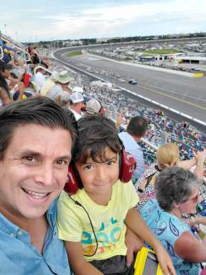 Nicolas attended Coke Zero Sugar 400 - KB100 - Kurt Busch Fan Appreciation Tickets on Jul 6th 2019 via VetTix