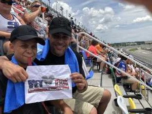 Chris Williams attended Coke Zero Sugar 400 - KB100 - Kurt Busch Fan Appreciation Tickets on Jul 6th 2019 via VetTix