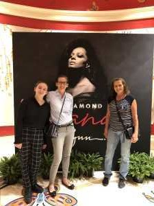 Ruzena attended Diamond Diana - R&b on Jun 14th 2019 via VetTix
