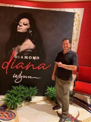 Carlos attended Diamond Diana - R&b on Jun 14th 2019 via VetTix