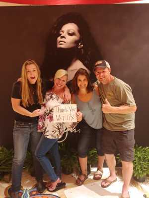 Rob attended Diamond Diana - R&b on Jun 14th 2019 via VetTix