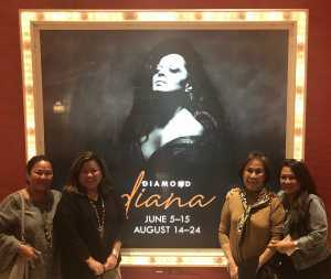 Alan attended Diamond Diana - R&b on Jun 14th 2019 via VetTix