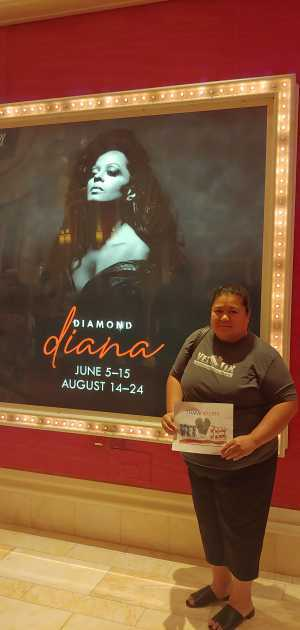 KATHRYN V. attended Diamond Diana - R&b on Jun 14th 2019 via VetTix