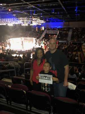 Shane attended MMA Live - Mixed Martial Arts on Jun 15th 2019 via VetTix