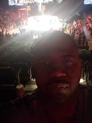 Wesley attended MMA Live - Mixed Martial Arts on Jun 15th 2019 via VetTix
