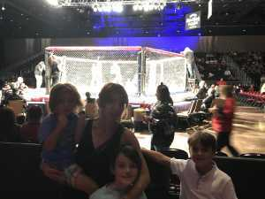 Matthew attended MMA Live - Mixed Martial Arts on Jun 15th 2019 via VetTix