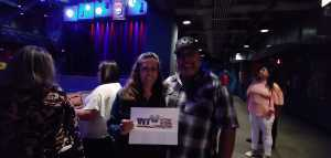 Carlos attended Legends of Motown Present Tributes to the Temptations & Stevie Wonder - R&b on Jul 11th 2019 via VetTix