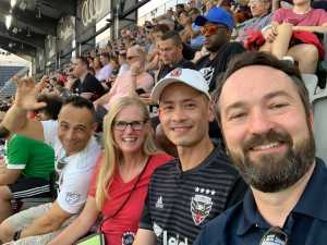 Richard attended DC United vs. NYCFC - US Open Cup Round of 16 - MLS on Jun 19th 2019 via VetTix