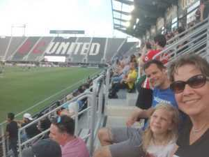 Laurine attended DC United vs. NYCFC - US Open Cup Round of 16 - MLS on Jun 19th 2019 via VetTix
