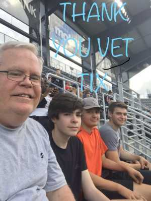 David attended DC United vs. NYCFC - US Open Cup Round of 16 - MLS on Jun 19th 2019 via VetTix
