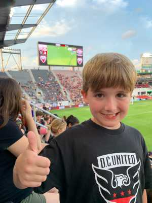 Bob attended DC United vs. NYCFC - US Open Cup Round of 16 - MLS on Jun 19th 2019 via VetTix