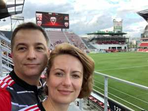 Michael attended DC United vs. NYCFC - US Open Cup Round of 16 - MLS on Jun 19th 2019 via VetTix
