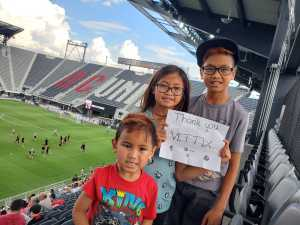 Tristan attended DC United vs. NYCFC - US Open Cup Round of 16 - MLS on Jun 19th 2019 via VetTix