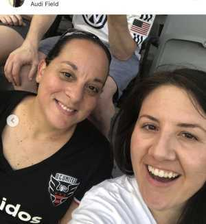 Maria attended DC United vs. NYCFC - US Open Cup Round of 16 - MLS on Jun 19th 2019 via VetTix