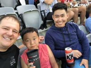 Kevin attended DC United vs. NYCFC - US Open Cup Round of 16 - MLS on Jun 19th 2019 via VetTix