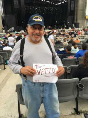 Armen attended Toby Keith - Country on Jul 6th 2019 via VetTix