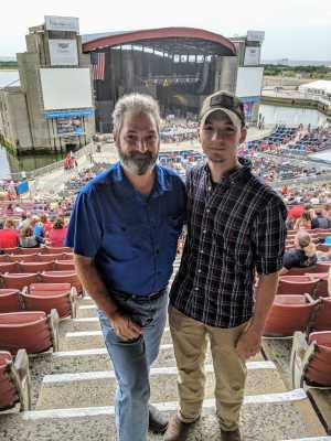 Mark attended Toby Keith - Country on Jul 6th 2019 via VetTix