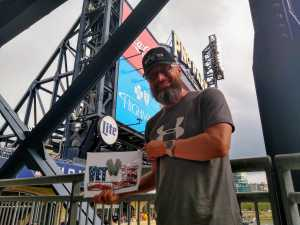 David attended Pittsburgh Pirates vs. Chicago Cubs - MLB on Jul 4th 2019 via VetTix