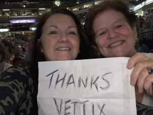 Anna attended Josh Groban: Bridges Tour With Jennifer Nettles - Adult Contemporary on Jun 19th 2019 via VetTix