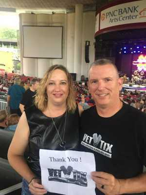 Jack & Jen attended The Royal Affair Tour: Yes and Asia on Jun 16th 2019 via VetTix