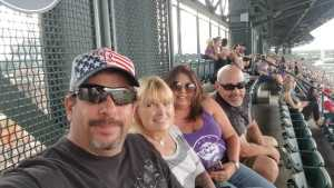 Joe attended Colorado Rockies vs. Cincinnati Reds - MLB on Jul 12th 2019 via VetTix