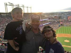 Richard attended Colorado Rockies vs. Cincinnati Reds - MLB on Jul 12th 2019 via VetTix