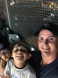 Larry  attended Colorado Rockies vs. Cincinnati Reds - MLB on Jul 12th 2019 via VetTix