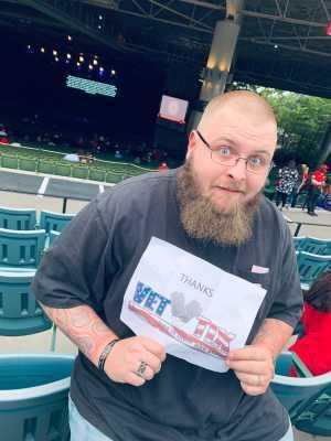 Arthur schaeffer attended Adam Sandler on Jun 19th 2019 via VetTix