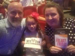 Click To Read More Feedback from Disney's - Freaky Friday - a New Musical