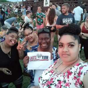 Veronica attended Blink-182 & Lil Wayne - Pop on Jul 3rd 2019 via VetTix