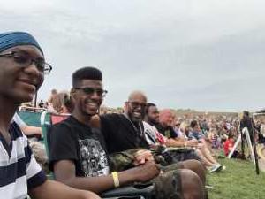 Rowland attended Blink-182 & Lil Wayne - Pop on Jul 3rd 2019 via VetTix