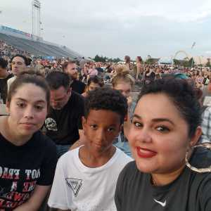Joyce attended Blink-182 & Lil Wayne - Pop on Jul 5th 2019 via VetTix