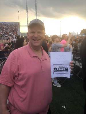 Darren attended Blink-182 & Lil Wayne - Pop on Jul 5th 2019 via VetTix