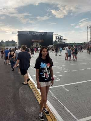 Patricia attended Blink-182 & Lil Wayne - Pop on Jul 5th 2019 via VetTix