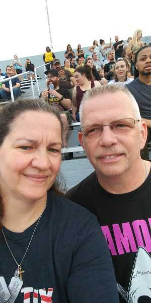 Margaret E attended Blink-182 & Lil Wayne - Pop on Jul 5th 2019 via VetTix