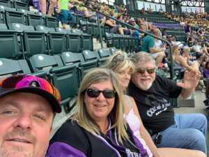 Brian attended Colorado Rockies vs. San Francisco Giants - MLB on Jul 17th 2019 via VetTix