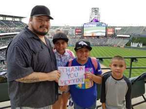 Veriyn attended Colorado Rockies vs. San Francisco Giants - MLB on Jul 17th 2019 via VetTix