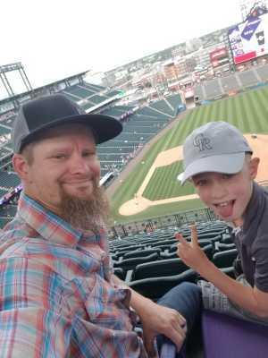 Cody attended Colorado Rockies vs. San Francisco Giants - MLB on Jul 17th 2019 via VetTix