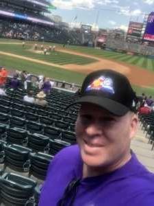 Michael attended Colorado Rockies vs. San Francisco Giants - MLB on Jul 17th 2019 via VetTix